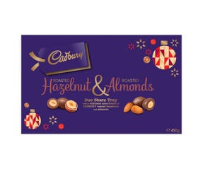 Cadbury Roasted Hazelnut & Roasted Almonds 450g