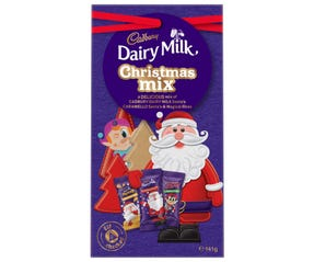 Cadbury Dairy Milk Christmas Mix 141g