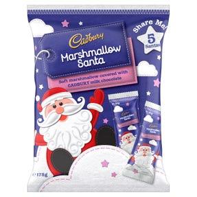 Cadbury Marshmallow Santa 175g
