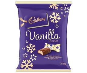 Cadbury Christmas Vanilla Nougat 135g