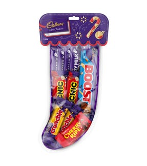 183g Cadbury Christmas Stocking