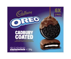 Oreo Cadbury Coated 204g