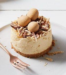 Cadbury Caramilk & White Chocolate Cheesecakes