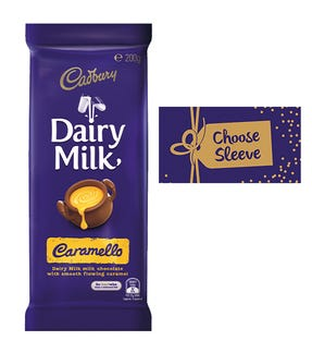 Cadbury Dairy Milk Caramello chocolate block 180g