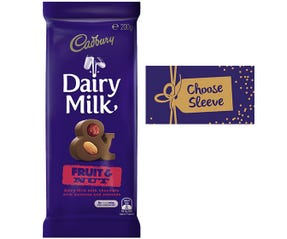 Cadbury Dairy Milk Fruit & Nut 180g