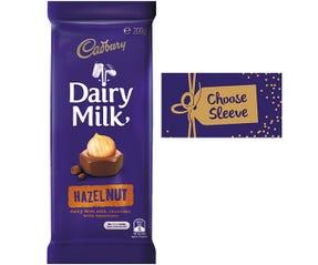 Cadbury Dairy Milk Hazelnut chocolate block 180g