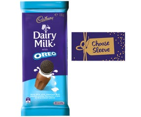 Cadbury Dairy Milk Oreo Vanilla 162g