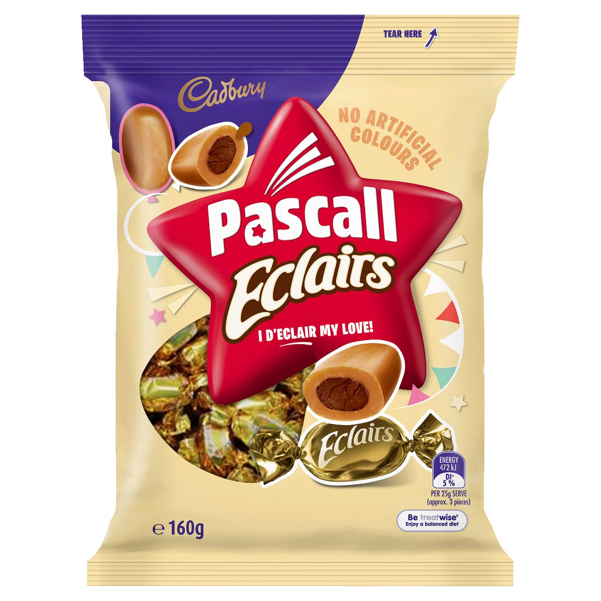 Cadbury Eclairs 160g