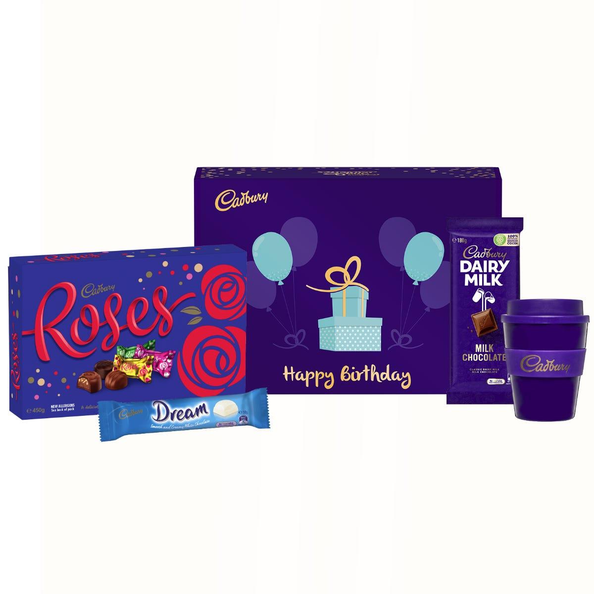 Cadbury Roses gift pack - Happy Birthday
