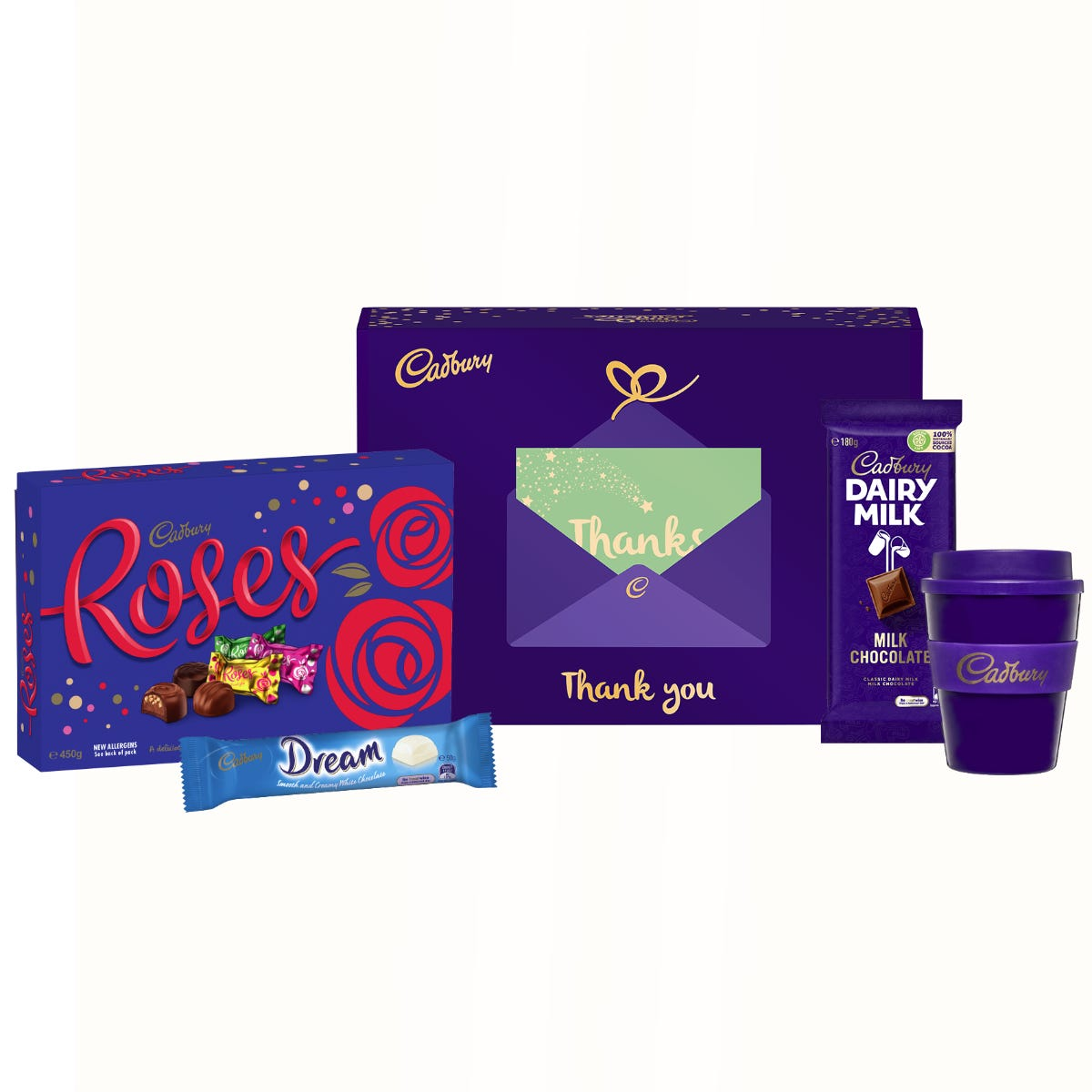 Cadbury Roses gift pack - Thank You