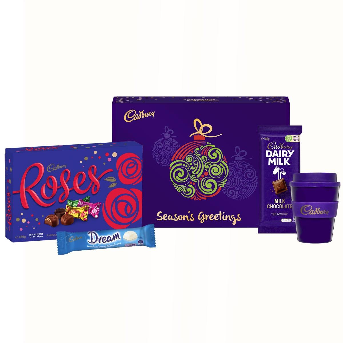 Cadbury Roses gift pack - Season's Greetings