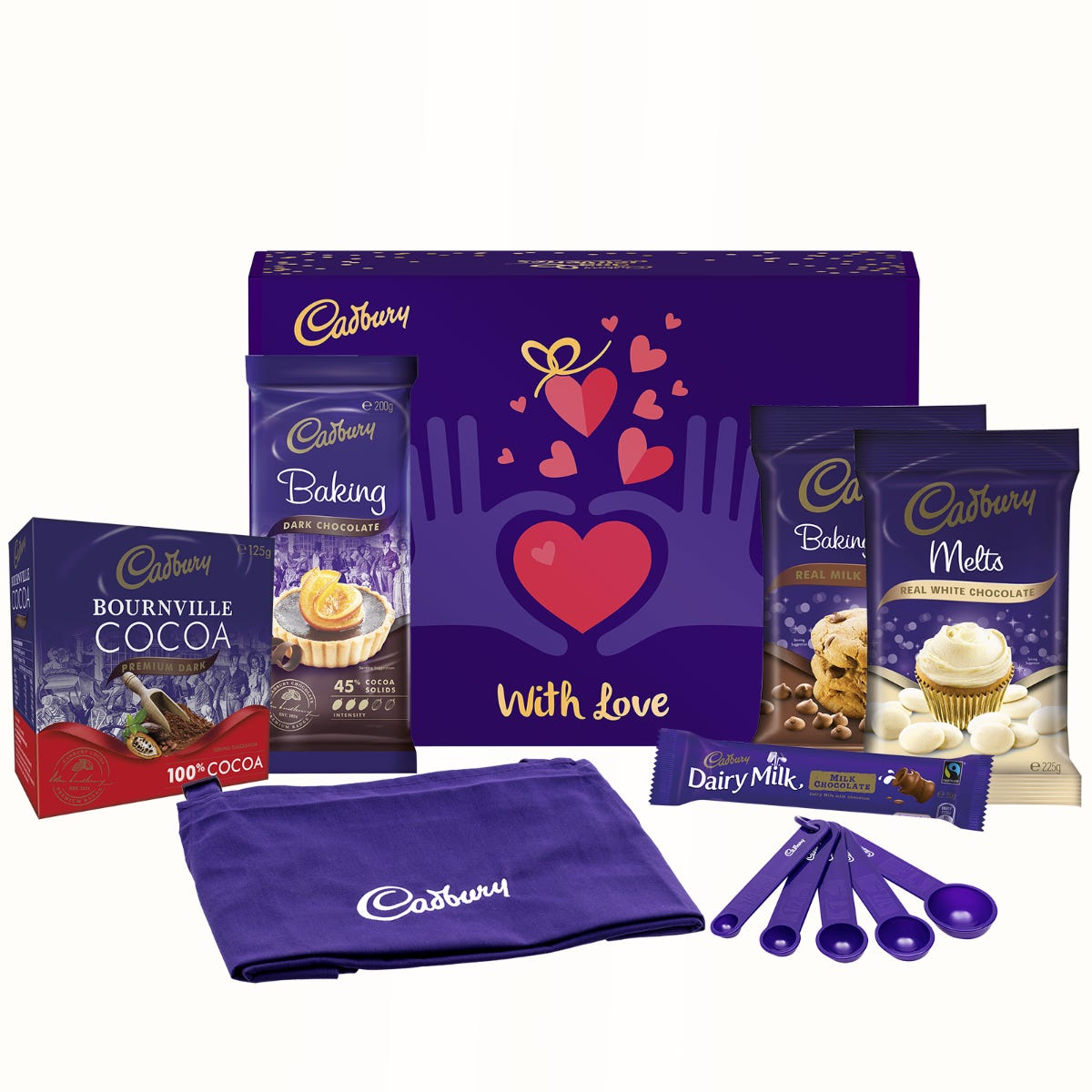Cadbury Baking Gift Pack - With Love