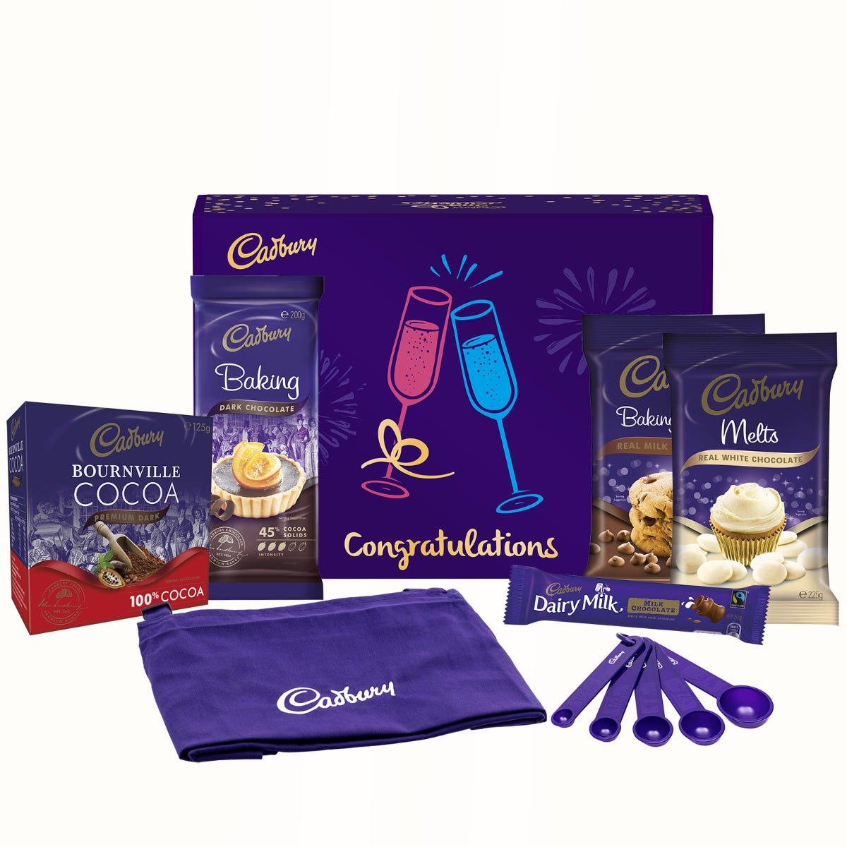 Cadbury Baking Gift Pack - Congratulations