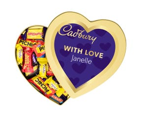 Cadbury Favourites Heart Gift Tin