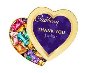 Cadbury Roses Heart Gift Tin