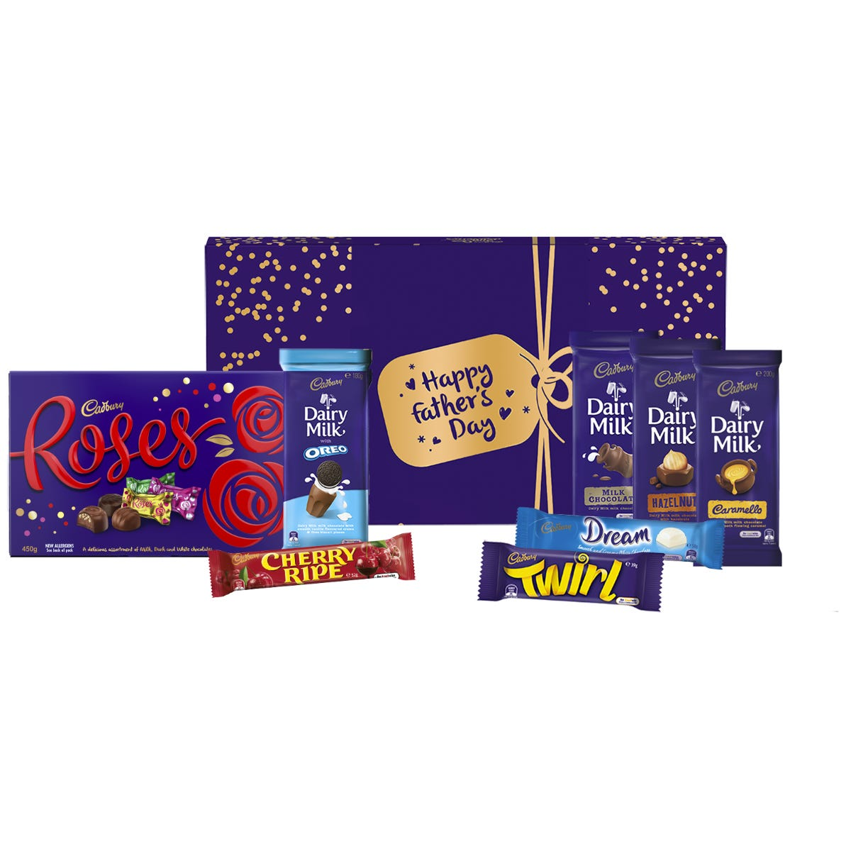 Cadbury Roses Very Much Chocolate Gift Hamper - Happy Father's Day