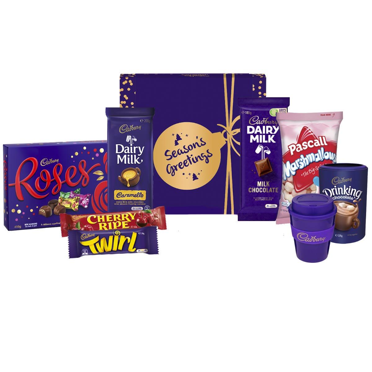 Cadbury Roses Indulgence Hamper - Season's Greetings