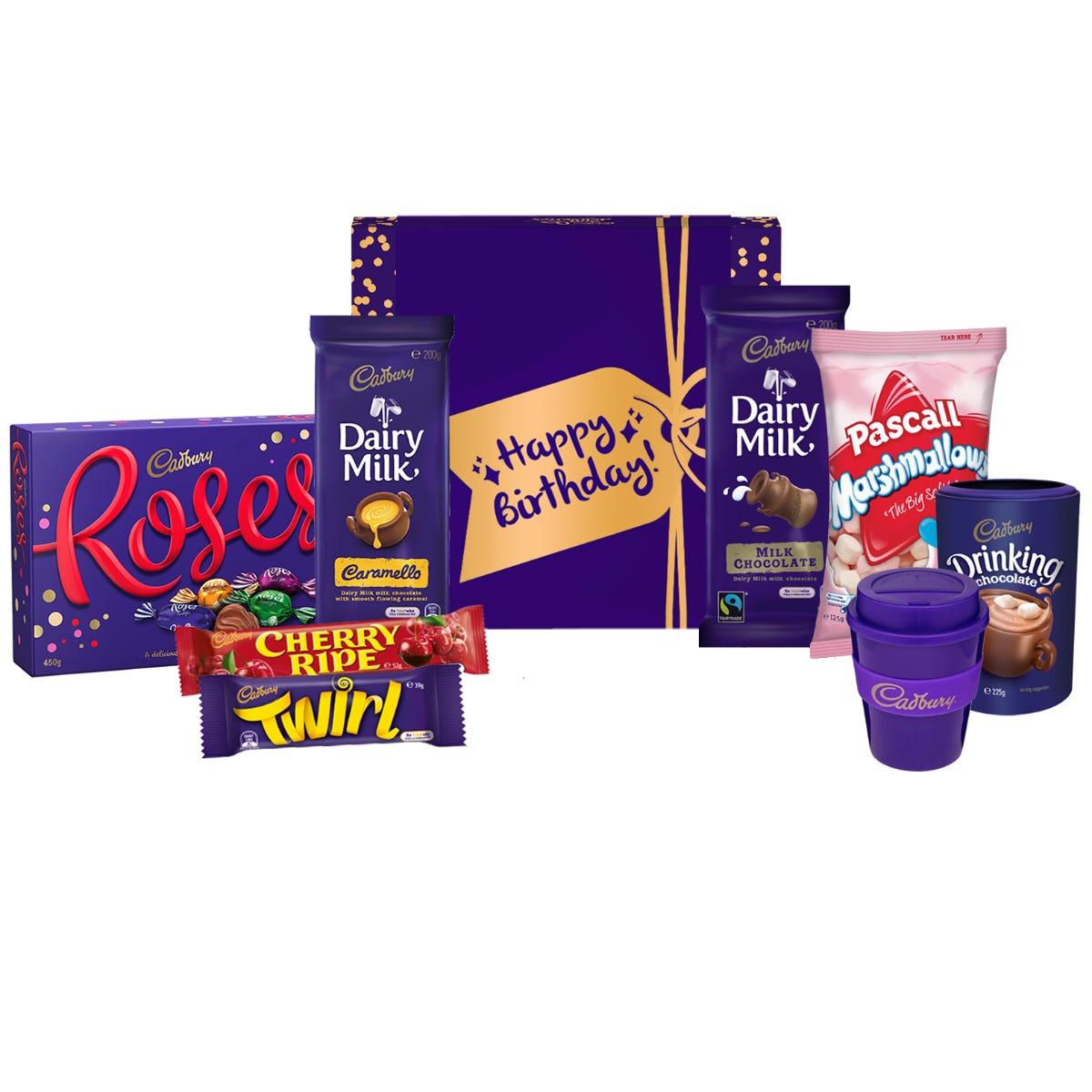 Cadbury Roses Indulgence Hamper - Happy Birthday