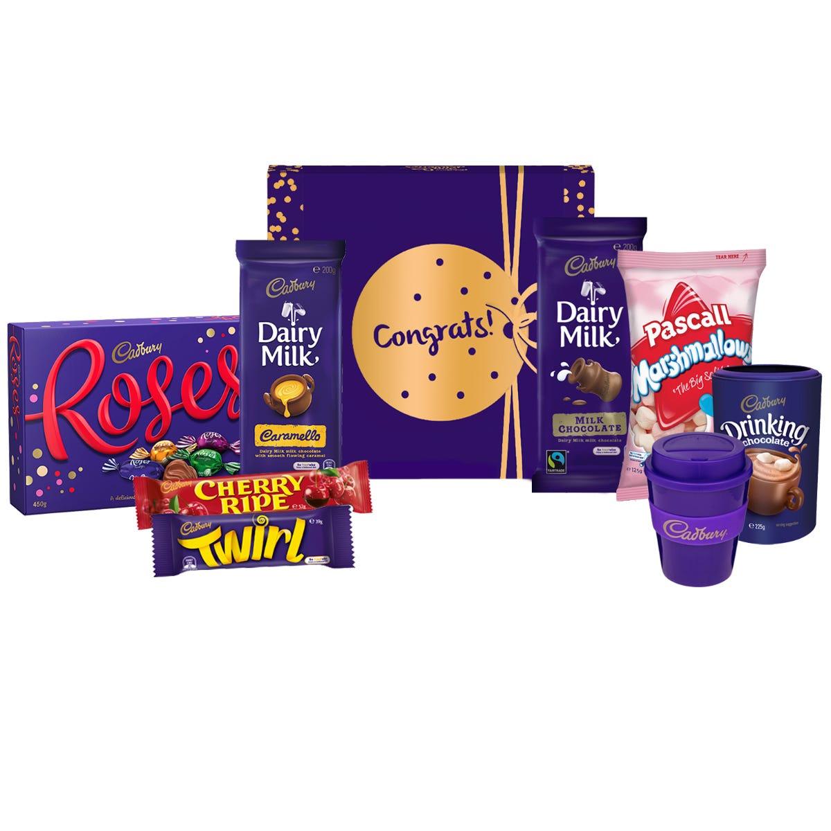 Cadbury Roses Indulgence Hamper - Congratulations