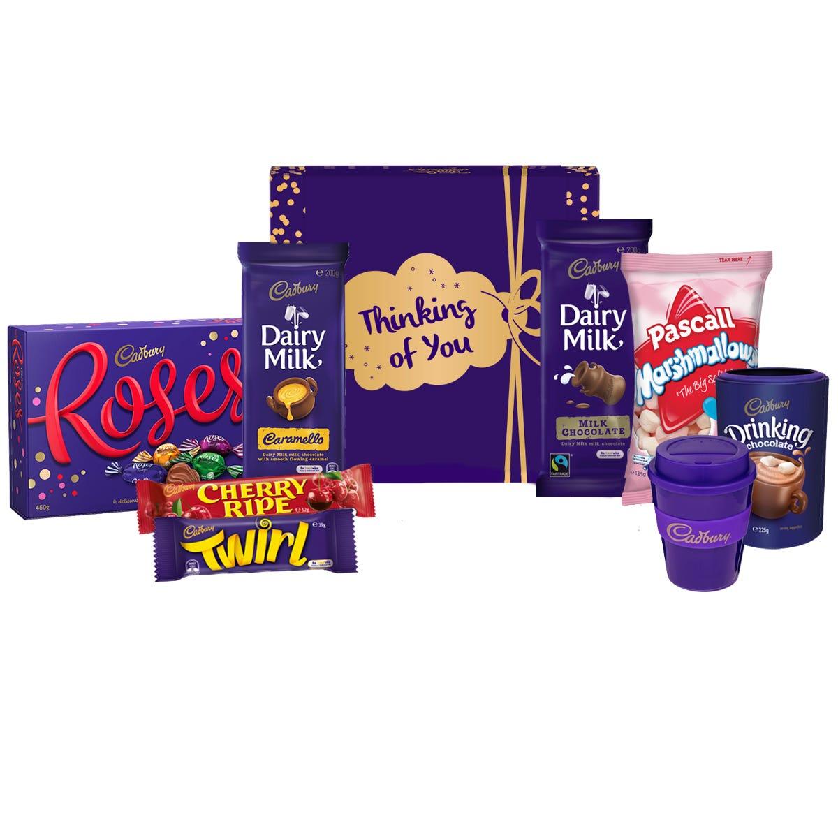 Cadbury Roses Indulgence Hamper - Thinking of You