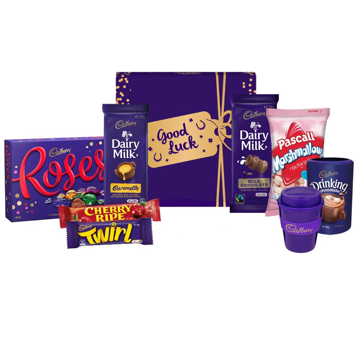 Cadbury Roses Indulgence Hamper- Good Luck