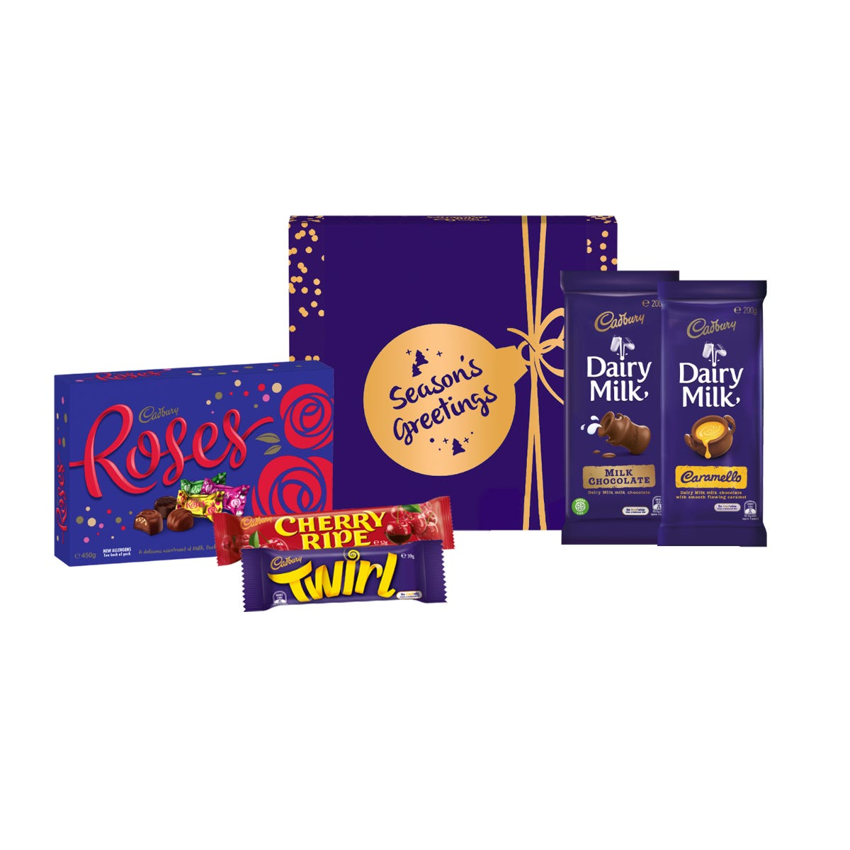 Cadbury Roses Hamper - Season's Greetings