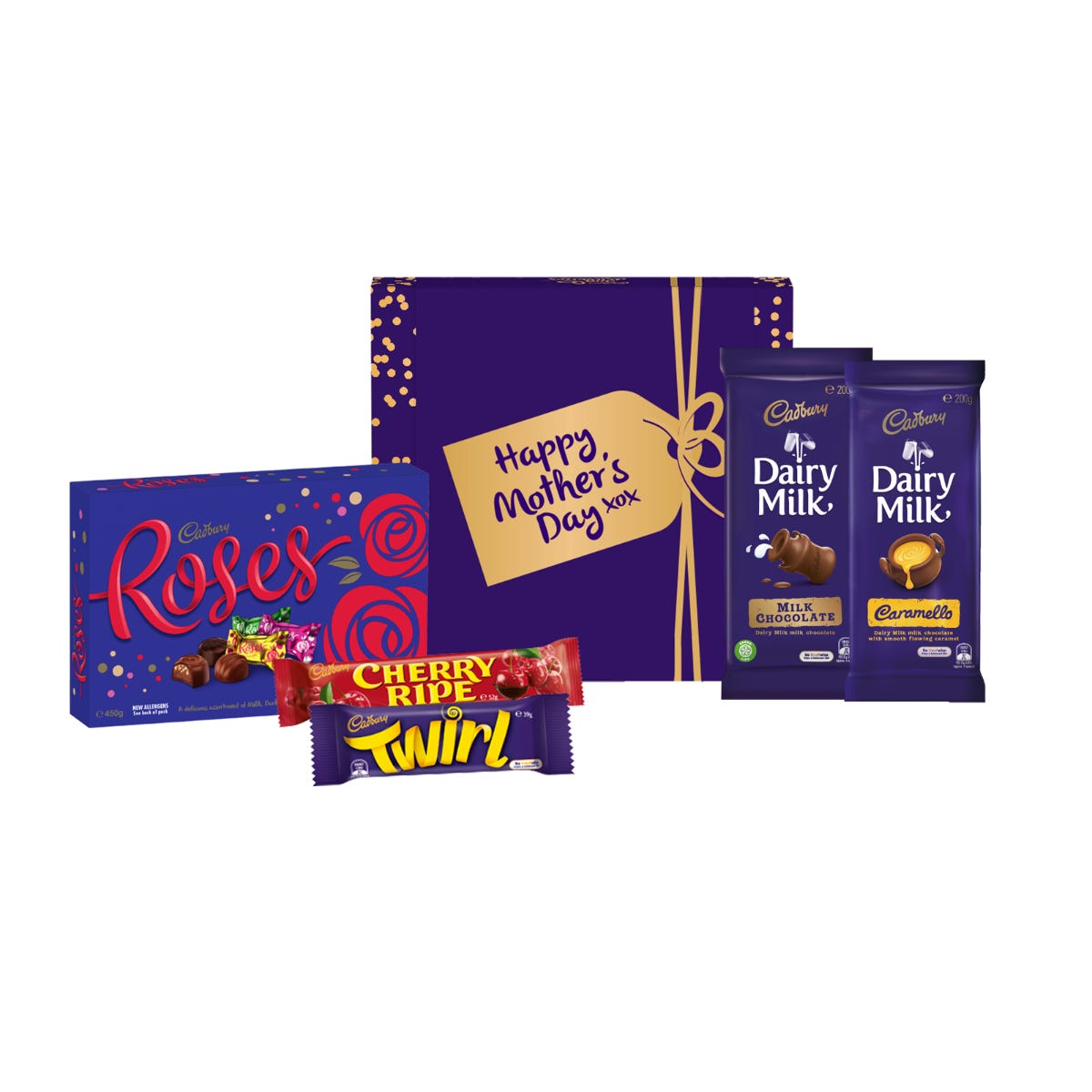 Cadbury Roses Hamper - Happy Mother's Day