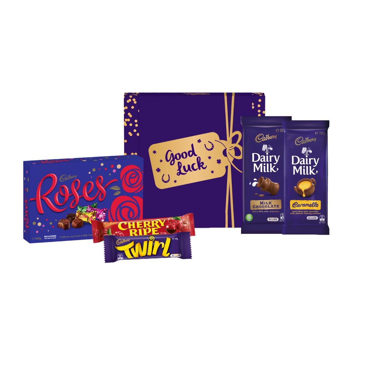Cadbury Roses Hamper - Good Luck