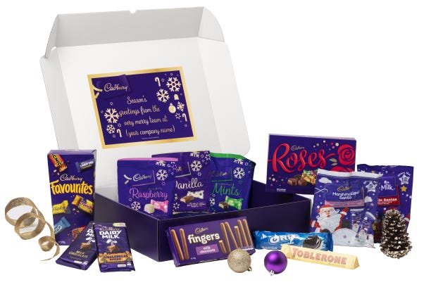 Cadbury Christmas Hamper - Extra Large