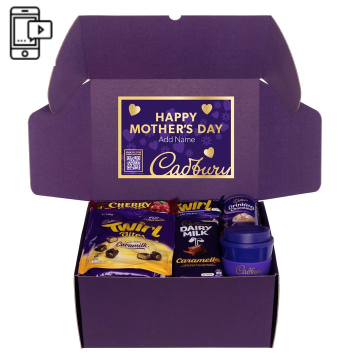 Cadbury Roses Indulgence Hamper with Optional Video Message