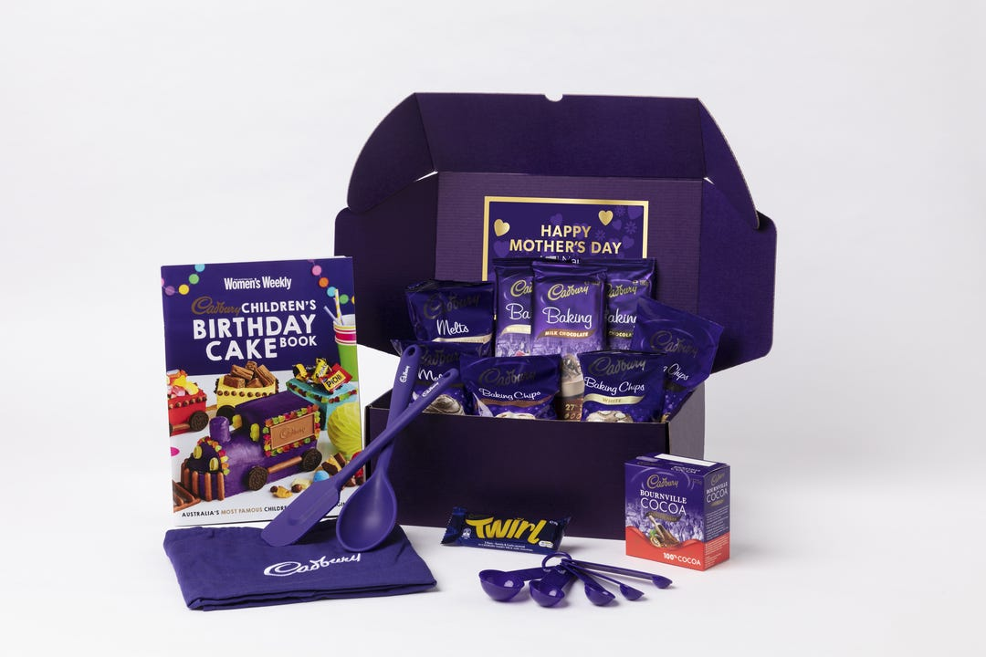 Cadbury Baking Hamper - with optional Video Message