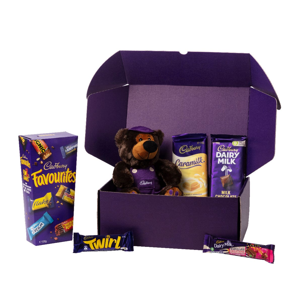 Cadbury Favourites Hamper with Bear