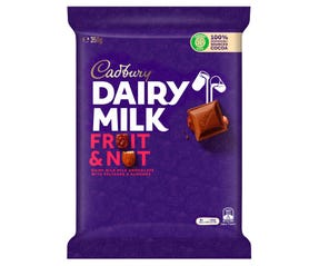 Cadbury Dairy Milk Fruit & Nut 350g