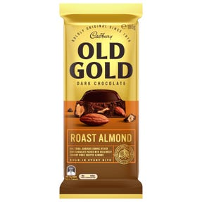 Cadbury Old Gold Dark Chocolate Roast Almond 180g