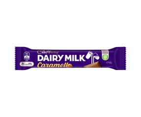 Cadbury Dairy Milk Caramello milk chocolate bar 55g