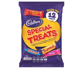 Cadbury Special Treats Chocolate Sharepack 180g (12 pack)