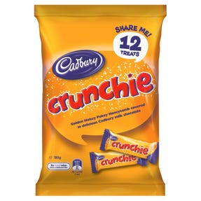 Cadbury Crunchie Sharepack 12 Pack 180g