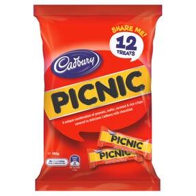 Cadbury Picnic Sharepack 12 Pack 180g