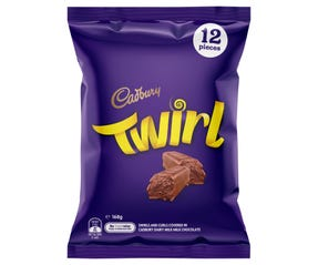 Cadbury Twirl Sharepack 12 Pack 168g