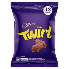 Cadbury Twirl Sharepack 12 Pack 168g
