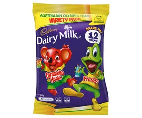 Cadbury Dairy Milk Freddo and Caramello Koala Sharepack 162g