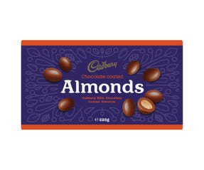 Cadbury Chocolate Coated Almonds 225g