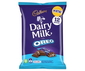 Cadbury Dairy Milk with Oreo Chocolate Sharepack 174g (12 pack)
