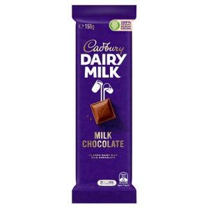 Cadbury Dairy Milk Milk Chocolate 150g