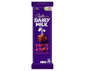Cadbury Dairy Milk Fruit & Nut 150g