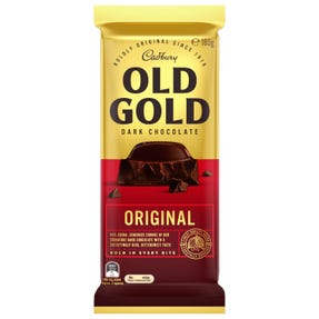 Cadbury Old Gold Dark Chocolate Original 180g
