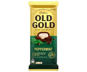 Cadbury Old Gold Dark Chocolate Peppermint 180g