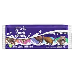 Cadbury Dairy Milk Furry Friends 100g