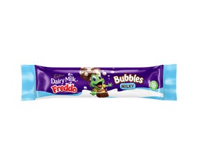 Cadbury Dairy Milk Freddo Milky Bubbles Bar milk chocolate bar 37g