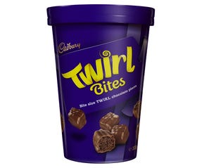 Cadbury Twirl Bites Chocolate Gift Tub 300g